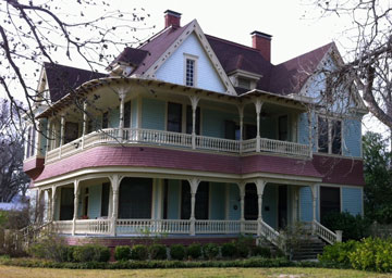H. P. Luckett House in Bastrop