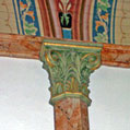 painted column detail by Gary McKee