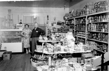 Hilltop Grocery, circa 1950s