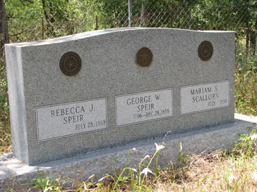 Speir Headstone